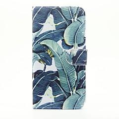 Недорогие Кейсы для iPhone 7-Кейс для Назначение Apple iPhone 7 Plus iPhone 7 Бумажник для карт Кошелек со стендом Флип Чехол дерево Твердый Кожа PU для iPhone 7 Plus