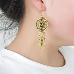 preiswerte Ohrringe-Damen Ohrstecker - Feder Personalisiert, Quaste, Europäisch Silber / Bronze Für Party / Alltag / Normal