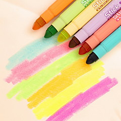 voordelige Teken- & Schrijfinstrumenten-Markers & Markeerstiften Pen Markeerstiften Pen, Muovi Rood Blauw Geel Paars Oranje Groen Inktkleuren For Schoolspullen Kantoor artikelen