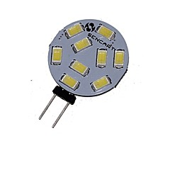 preiswerte LED-Birnen-SENCART 360-380lm G4 LED Spot Lampen MR11 9 LED-Perlen SMD 5730 Dekorativ Warmes Weiß / Kühles Weiß 12V / 24V / 1 Stück / RoHs / ASTM