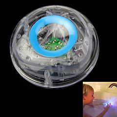 cheap -Children Bathe Underwater Flash LED Colorful Float Bathtub Lamp Toy Transparent Sky Blue