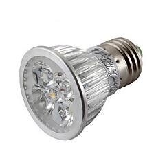 E26/E27 LED Spotlight MR16 4 High Power LED 400 lm Warm White Cold White 3000/6000 K Dimmable Decorative AC 85-265 V