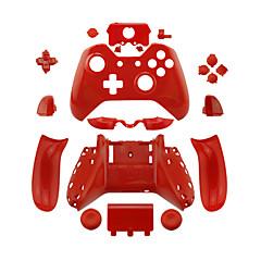 お買い得  Xbox One用スキン-(紫/緑/青/黄/黒/白/オレンジ/ピンク/赤)、滑らかなのxbox 1コントローラ用の交換用コントローラケース