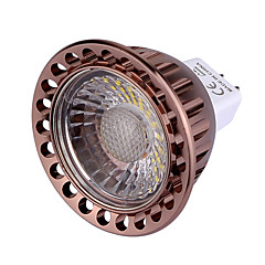 YWXLight® 7W GU5.3 LED Spotlight MR16 1 COB 500-700 lm Warm White Cold White Dimmable Decorative DC/AC 12 V 1pc