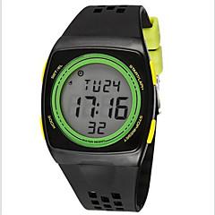 SYNOKE Męskie Sportowy Zegarek na nadgarstek Zegarek cyfrowy Cyfrowe LCD Chronograf Wodoszczelny alarm Świecący Plastic Pasmo Czarny
