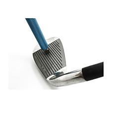 ゴルフアイアンクラブ用溝シャープナー 耐久 ライトウェイト 携帯式 ステンレス鋼 のために ゴルフ - 1個