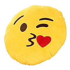 voordelige Knuffels-knuffels Gevulde Kussen Speeltjes Cirkelvormig Emoji Nieuwigheid Jongens Meisjes Stuks