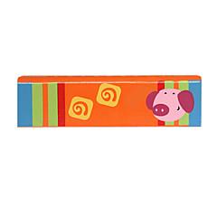 madera armónica verde / rojo para los niños todos los instrumentos musicales de juguete
