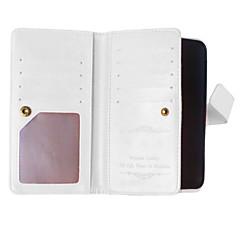 Недорогие Чехлы и кейсы для Nokia-Для Кейс для Nokia Кошелек / Бумажник для карт / со стендом Кейс для Чехол Кейс для Один цвет Твердый Искусственная кожа NokiaNokia Lumia