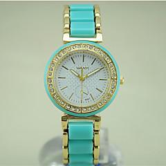 preiswerte Tolle Angebote auf Uhren-Damen Modeuhr Edelstahl Band Schwarz / Weiß / Grün / Ein Jahr / Tianqiu 377