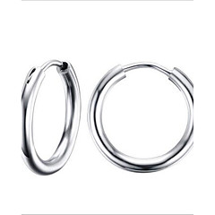 Dames Ring oorbellen Modieus Kostuum juwelen Roestvast staal Cirkelvorm Sieraden Voor Feest Dagelijks Causaal