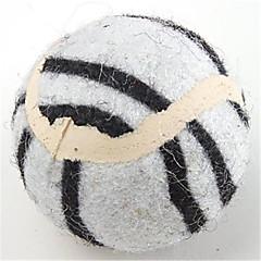 お買い得  犬用おもちゃ-ボール型 マウスおもちゃ テニスボール 繊維 用途 犬用おもちゃ