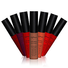 Gloss Labial Molhado Bálsamo Gloss Colorido Vermelho 1 MANSHILI
