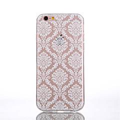 Mert iPhone 6 tok / iPhone 6 Plus tok Átlátszó / Minta Case Hátlap Case Csipke dizájn Puha TPUiPhone 7 Plus / iPhone 7 / iPhone 6s Plus/6