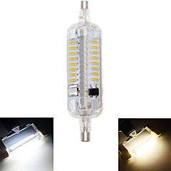 preiswerte LED-Birnen-1pc 4 W 350-400 lm R7S LED Mais-Birnen T 76 LED-Perlen SMD 4014 Wasserfest / Dekorativ Warmes Weiß / Kühles Weiß 220-240 V / 1 Stück / RoHs