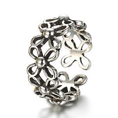 Χαμηλού Κόστους -ΚρίκοιΜοντέρνα / Προσαρμόσιμη Καθημερινά / Causal Κοσμήματα Ασήμι Στερλίνας Γυναικεία / Άντρες Δαχτυλίδια για τη Μέση του Δαχτύλου / Βέρες