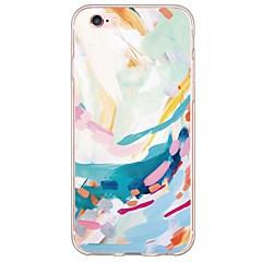 Назначение iPhone X iPhone 8 iPhone 6 iPhone 6 Plus Чехлы панели Ультратонкий Полупрозрачный Задняя крышка Кейс для Пейзаж Мягкий