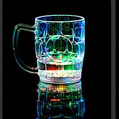 1 개 화려한 색상 창조적 인 임의의 술집 KTV 주도 램프 야간 조명은 음료 용기를 주도