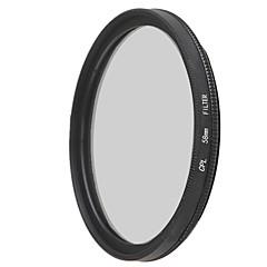 lentes de filtro polarizador circular EMOBLITZ 58mm CPL