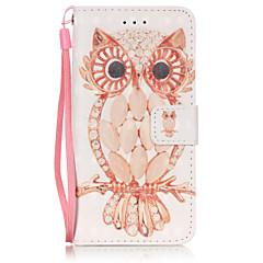 Для Кейс для iPhone 6 / Кейс для iPhone 6 Plus Кошелек / Бумажник для карт / Флип Кейс для Чехол Кейс для Сова Мягкий Искусственная кожа