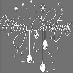 Karácsony / Mondások & Idézetek / Ünneő Falimatrica Repülőgép matricák Dekoratív falmatricák,vinyl AnyagEltávolítható /