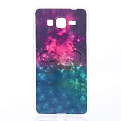 お買い得  Samsung その他の機種用ケース/カバー-ケース 用途 Samsung Galaxy Samsung Galaxy ケース パターン バックカバー カートゥン ソフト TPU のために Grand Prime / Grand Neo / Core Prime