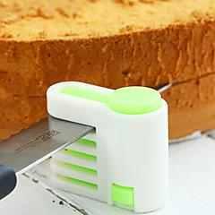 2pcs Sütés eszköz Torta Műanyag Torta & sütemény szeletelők