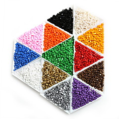 beadia 25g (kb 300db) 3x3mm négyzet üveg kásagyöngyök spacer laza gyöngyök