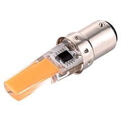 abordables Ampoules LED-YWXLIGHT® 400-500 lm BA15D Lampe de Décoration T 1 diodes électroluminescentes COB Intensité Réglable Décorative Blanc Chaud Blanc Froid