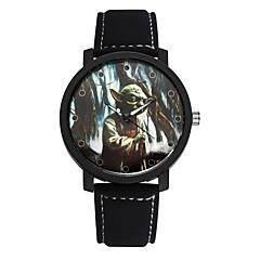 preiswerte Tolle Angebote auf Uhren-SOXY Herrn Armbanduhr Schlussverkauf / Cool / / Leder Band Freizeit / Kleideruhr Schwarz / Braun