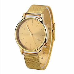 preiswerte Herrenuhren-Herrn Quartz Armbanduhr Chronograph Legierung Band Glanz Minimalistisch Modisch Schwarz Silber Rotgold