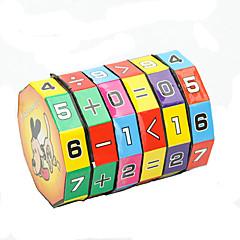 billige Puslespil-Matematiklegetøj Pædagogisk legetøj Legetøj Øko Venlig Cylinder-formet Plast Klassisk Stk. Børne Gave