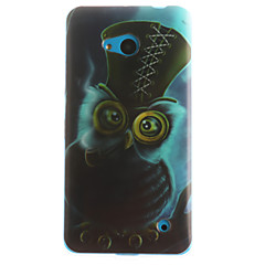 olcso Nokia tokok-Case Kompatibilitás Nokia Lumia 630 Nokia Nokia Lumia 530 Nokia tok Minta Fekete tok Bagoly Puha TPU mert