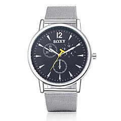 preiswerte Tolle Angebote auf Uhren-SOXY Herrn Armbanduhr Armbanduhren für den Alltag Edelstahl Band Charme / Modisch Silber / Tianqiu 377