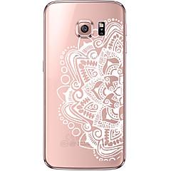 Για Samsung Galaxy S7 Edge Διαφανής / Με σχέδια tok Πίσω Κάλυμμα tok Μάνταλα Μαλακή TPU Samsung S7 edge / S7 / S6 edge plus / S6 edge / S6