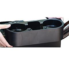 Недорогие Органайзеры для транспортных средств-установленного на транспортном средстве многофункциональный ящик для хранения, автомобильный держатель чашки, держатель чашки слот, ящик
