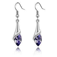 tanie -Damskie Kryształ biżuteria kostiumowa Srebro standardowe Biżuteria Na