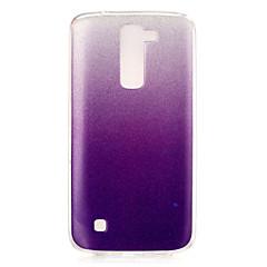 Mert LG tok IMD Case Hátlap Case Színátmenet Puha TPU LG LG K7