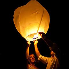 부동 랜턴 임의의 색상을 kongming 하늘 종이 비행 촛불 중국어 불하고자하는 결혼식