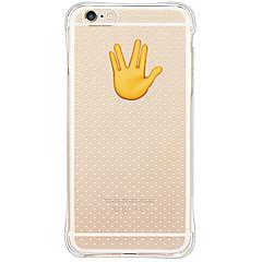 Для Кейс для iPhone 6 / Кейс для iPhone 6 Plus Водонепроницаемый / Защита от удара / Защита от пыли Кейс для Задняя крышка Кейс для