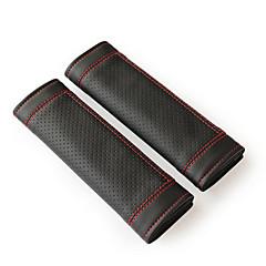 Недорогие Чехлы для сидений и аксессуары для транспортных средств-Крышка ремня безопасности ремень безопасности Кожа PU Назначение Универсальный