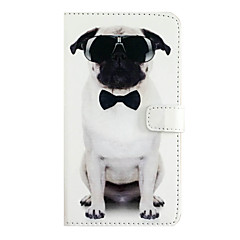 cheap iPhone Cases-PU Leather Dog Tie for iphone7plus 7 6Splus 6Plus 6S 6 SE 5S 5