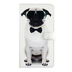 Назначение iPhone X iPhone 8 iPhone 7 iPhone 7 Plus iPhone 6 Чехлы панели Бумажник для карт Флип Чехол Кейс для С собакой Твердый
