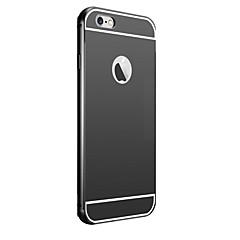 покрытие зеркало обратно с телефона случае металлический каркас для iPhone 5с (ассорти цветов)
