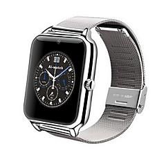 preiswerte Herrenuhren-Herren / Damen Smart Uhr digital Touchscreen / Fernbedienung / Kalender / Alarm / Schrittzähler / Fitness Tracker / Stopuhr Edelstahl Band