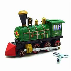 Κουρδιστό παιχνίδι Αυτοκίνητα Παιχνιδιών Τρένο Παιχνίδια Ουρά Μεταλλικό Κομμάτια Δώρο