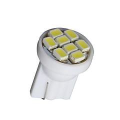 voordelige -20 stuks zuiver wit t10 wedge 8-smd W5W 168 194 2825 175 LED binnenverlichting gloeilampen