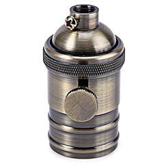 tanie Akcesoria LED-miedzi e27 droplight oprawka z wyłącznikiem czarny / brązowy / srebrny / złoty kolor