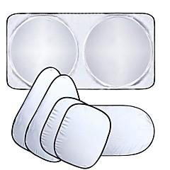 abordables Protección Ocular-ziqiao ventana del coche al sol parasol en el parabrisas del coche visera bloque de cubierta ventana delantera de la sombrilla UV protege