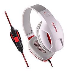 Sades SA701 Наушники с оголовьемForМедиа-плеер/планшетный ПК / КомпьютерWithС микрофоном / DJ / Регулятор громкости / FM-радио / Игры /